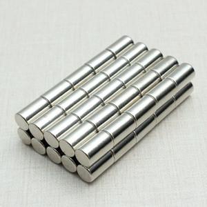 50pcs N52 forte aimants en néodyme disques cylindre terre rare 6x10mm