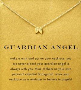 Kart ile! Melek kanadı (Guardian Angel), solmaz, ücretsiz kargo ve yüksek kalitede gümüş ve altın rengi sevimli Dogeared Kolye.