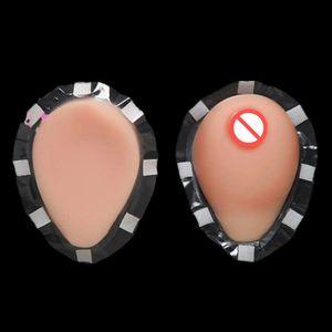 Frete grátis, alta qualidade 1200g grande mama de silicone, D copo peitos falsos, sexy sutiã aberto para transgender crossdresser atacado