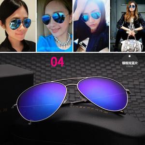 Nouvelle vente chaude Victoria Beckham femmes hommes lunettes de soleil Revêtement de marque VB lunettes de soleil yeux verre Polaroid grandes lentilles avec étui