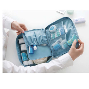 50pcs Multifunction Make up Organizer bag Women Cosmetic bags Outdoor Travel Bag Handbag Bolsas