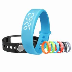 Hot Sale W5 Bluetooth Smartband Digital Smart Watch Pedometer Sleep Fitness Tracker Smart Bracelet For Android IOS Smart Band