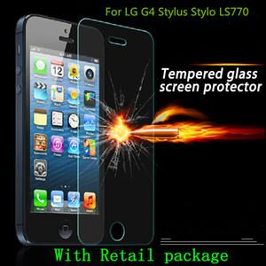 Verre trempé Protecteur d'écran anti-déflagrant pour LG RAY ZONE G4 LG G4S G4 Beat pour LG H735 G4 Stylus Stylo LS770