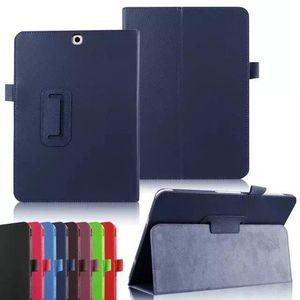 Estojo de couro Magnético Flip Folio case para samsung galaxy tab e um s2 s t550 t580 t680 t680 t710 t610 t560 t560 tt3 tampa dtl frete grátis