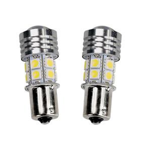 Горячая светодиодная лампа для автомобилей R5 + 1156 BA15S 12SMD 1141 12 В 10 Вт Белый 6000K Светодиодная лампа Парковка Хвост резервный фонарь заднего хода Универсальная светодиодная лампа