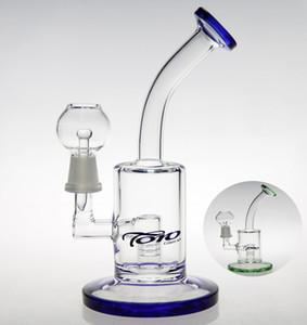 alta qualidade de vidro arte em vidro pirex bong tubos pinceladas de plataforma de petróleo água hookah inline Marca privilégio bong cachimbos cachimbo de vidro