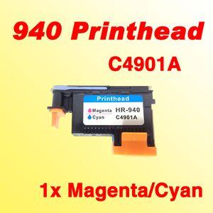 1X 940 رأس الطباعة تتلاءم مع hp940 أرجواني سماوي C4901A للحصان 940 برو 8000 8500 8500A