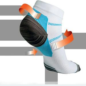 Nouvelle arrivée Veines Chaussettes de compression Chaussettes avec les Spurs arch douleur nouvelle unisexe coton Thermoskin FXT plantaires socquettes pied Cas d'alimentation HH-S38