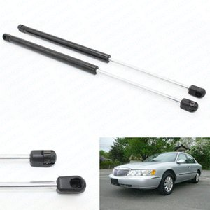 2pcs Fits for Lincoln Continental 1998 1999 2000 2001 2002 Hood Gas Spring Lift Supports Gas Struts