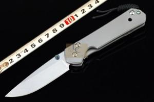 Chris Reeve Küçük Sebenza 21 taş yıkama ile katlanır bıçak D2 blade TC4 titanyum alaşımlı kolu ücretsiz kargo