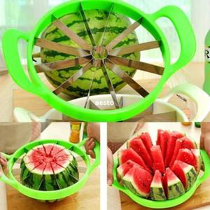 Edelstahl-Wassermelonen-Melonen-Schneider-Kantalupen-Küchen-Schneider-Frucht-Teiler # R362