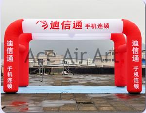entri nella tenda gonfiabile della galleria della tenda gonfiabile della tenda dell'arco per la pubblicità e il logo pubblicitario libero