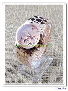 20% de descuento en 2019 Gold New Ladies M Calender Watch con alta calidad diseñador de moda Reloj de cuarzo Horas Envío gratis