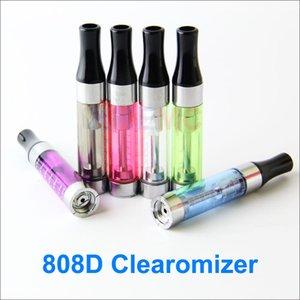 808D Atomiseur E-smart clearomizer 808510 Threading e cigarette e-smart e cig 808D et 510 ajustement clearomizer pour CE4 ego 510 Evod batterie
