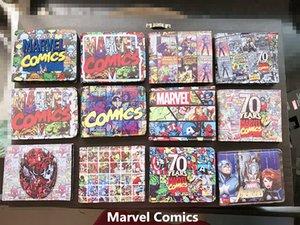 Cool Marvel Comics Wallet Appliques Brodé Patch Slim En Cuir de Bande Dessinée Portefeuille Pour Femmes Hommes Avengers