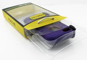 50pcs al por mayor universal de PVC Caja de empaquetado con interior Insertar para Iphone 7 / 7plus Samsung Nota 7 Híbridos Defender teléfonos Fundas