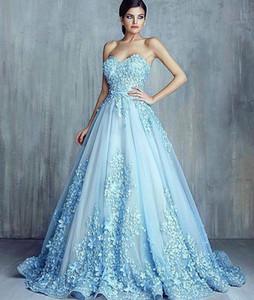 2016 Date Real Images Bleu Complet Perles Designer Formelle Longue Robes De Soirée De Célébrité Robes De Bal Parti