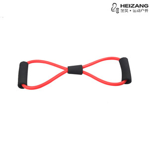 Yoga word fitness latex rubber cable machine multi-function cable machine chest expander children cable machine