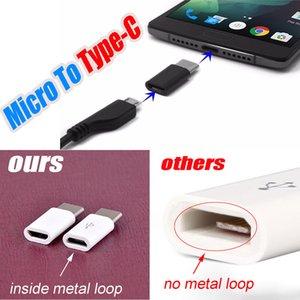 Alta calidad Micro USB hembra a USB 3.1 Tipo-c Adaptador de cable de carga Cargador de sincronización de datos