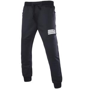 Pantalons de sport pour hommes en gros-Nouvel été en cours d'exécution Gym Sweatpants Soccer impression pantalon décontracté mâle Jogging Bodybuilding Fitness Sweat Pant