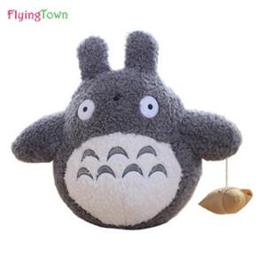 40 cm Totoro grande Totoro Totoro de peluche Muñecas grandes almohadas Regalo de cumpleaños para niños niños peluches juguetes femenino Freeshipping