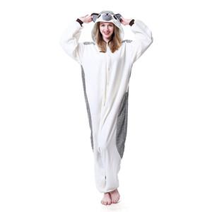 Warm 2018 Hedgehog Kigurumi Pajamas Animal Suits Cosplay Halloween Costume Adult Garment Cartoon Jumpsuits Unisex Animal Sleepwear