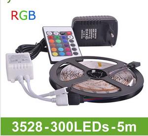 Goodland RGB LED Strip Light SMD3528 DC 12V Luz LED flexible 30LED / m 5m Adatpter de potencia, control remoto, receptor