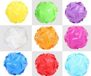 DIY Contemporary 40 centímetros 110-240V Modern Elements QI Quebra-cabeça Abajur teto luminária Bola de Iluminação
