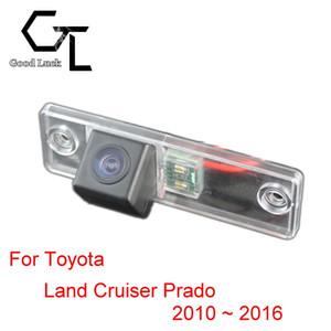 Per Toyota Land Cruiser Prado 2010 ~ 2016 Telecamera per retrovisione CCD HD con visione notturna e retromarcia