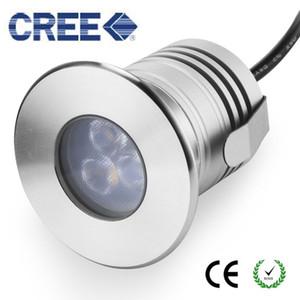 Edelstahl IP68 LED Unterwasserlicht 12V 3W imprägniern Untertage-Lampen-Niederspannungs-Landschaft im Freien, die Swimmingpool-Licht LED beleuchtet