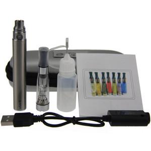 CE4 eGo Starter Kit E-Cig Electronic Cigarette Zipper Case kit Single Kit with CE4 atomizer and 650mah 900mah 1100mah Ego T battery DHL