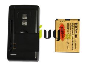 BL-4D BL 4D BL4D 2680mAh بطارية بديلة للذهبي + شاحن حائطي USB لجهاز Nokia N97mini N8 E5 E7 702T T7-00 N5 808 702T T7