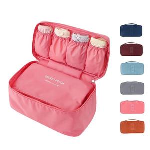 Waterproof Women Girl Lady Portable Travel Bra Underwear Lingerie Organizer Bag Cosmetic Makeup Toiletry Wash Storage case