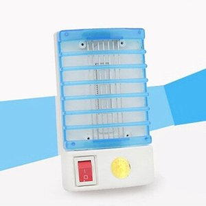 Wholesale-Hot Selling LED Electric Mosquito  Bug Insect Trap Zapper Killer USA Plug Night Lamp
