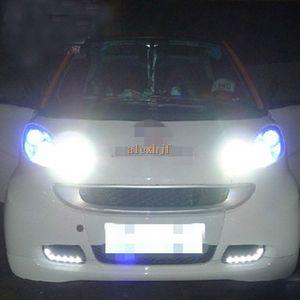Süper Parlak Osram LED Gündüz İşaretleri Işıkları DRL, 2008 ~ 2011 için Ön Tampon Sis Lambası LED Akıllı forma 2: 1 değiştirme, ücretsiz gönderim