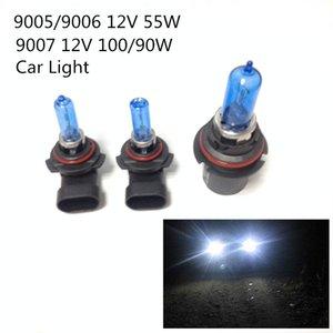 Nuevo 2 piezas 12V (100 / 90W 9007) (55W 9005/9006) Xenón HID ultra blanco Faros halógenos para automóvil Bombillas Lámpara Piezas para automóviles Fuente de luz para automóvil Accesorios