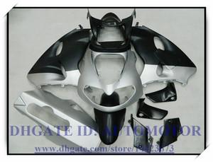 Alta qualidade 100% brand new carenagem kit apto para Suzuki TL1000R 1998-2003 1999 2000 2001 2002 2003 TL1000R 98-03 # CK109 PRATA PRETO
