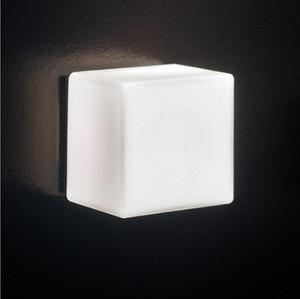 4pcs lot LED Sugar Ice Cube Wall Lamp White Glass Ceiling Light Background Light Bar Asile Ice Brick Lamp Backdrop Light Indoor Wall Light
