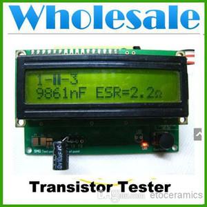 wholesale NEW TRANSISTOR TESTER CAPACITOR ESR INDUCTANCE NPN PNP MOSFET RESISTOR METER Lots30