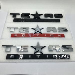 3 Couleurs Badge De Voiture Texas Edition Logo Pour Chevrolet Chevy Silverado Botte Arrière Botte Emblème Autocollant