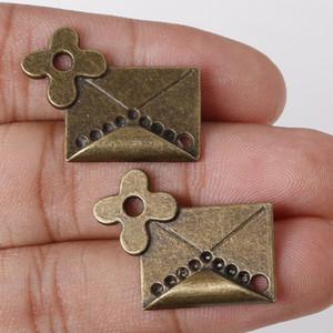 Livraison gratuite En Gros Vintage Charmes Antique Bronze Plaqué Mixte Livres Charms Pendentif Fit Bracelets Collier DIY Métal Bijoux Fabrication de bijoux