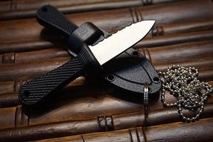 Высокое качество Холодное Супер края Нож - 42SS - включает в себя Прочный выживания Secure-Ex Оболочка с пакетом бумажной коробке оригинала