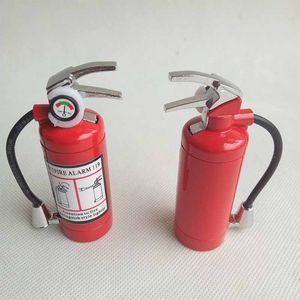 Mini-Feuerlöscher-Art-förmige Butan-Strahl-Feuerzeug-Zigarre-Zigarette mit LED-Taschenlampe nachfüllbar Nein Gasraucher-Werkzeug-Feuerzeuge