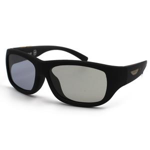 New Arival justierbare LCD-Linsenfarbe Eyewear elektronische Durchlässigkeit polarisierte Sonnenbrillegläser mit Fall Freies VERSCHIFFEN