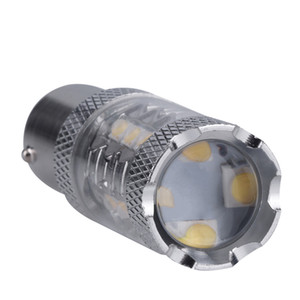 Car lights, 1x Super Bright White 80W 16 LED SMD 1156 Ba15s S25 P21W CREE Backup Reverse Light Bulb car styling