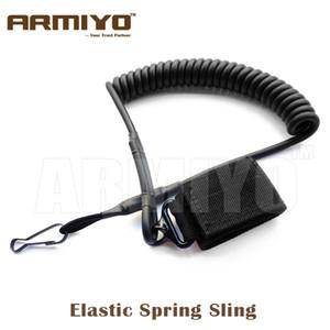 Armiyo Pistol Hand Gun Elastic Spring Sling Hunting Shooting Accessories Black Army Green Dark Earth