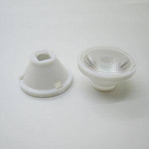 32.5mm Bead 25 Degree   Smooth 5 Degree Led Lens For CREE MC-E XR-E Q5 Led Light