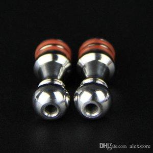 100Pcs Five Pawns 510 Drip Tips Bocchino in acciaio inox misura 5 Pedine RDA Atomizzatore RBA Kayfun Lite Plus Edition Kayfun 4 Acessorios DHL