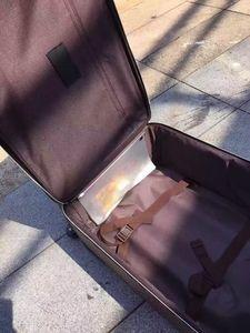 2017 Novo Modelo de Moda de Luxo de Alta-Grade Famosa Marca Carry-Ons Barding Bag Rolando Conjuntos de Bagagem Mulheres Unissex Homens Spinner Trole Expansível