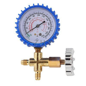 Wholesale-Refrigeration Teil 11mm Gewinde Single Manifold Manometer 0-15Kgf / cm2